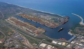 Durban's harbour