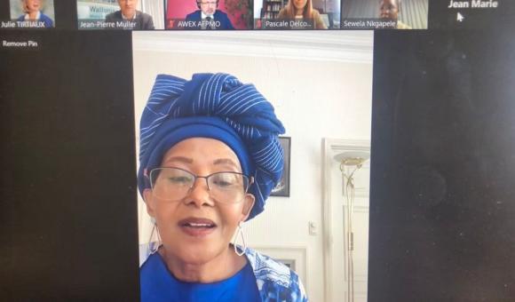 HE Madame Tokozil Xasa, Ambassador of South Africa to Belgiuma and the EU